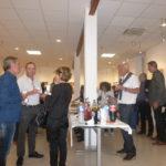 Les invités étaient venus nombreux à l'exposition de Marianne Blanc
